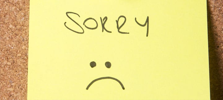 Learn how to apologize – with an English song